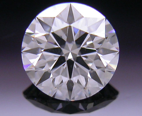 0.374 ct E VS2 A CUT ABOVE® Hearts and Arrows Super Ideal Round Cut Loose Diamond