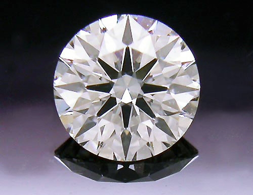 0.281 ct J VS1 A CUT ABOVE® Hearts and Arrows Super Ideal Round Cut Loose Diamond