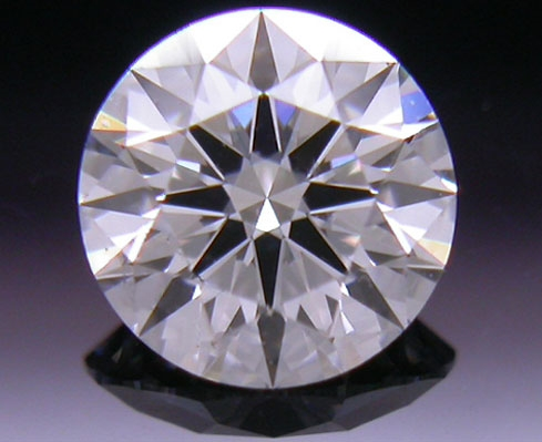 0.383 ct F SI2 A CUT ABOVE® Hearts and Arrows Super Ideal Round Cut Loose Diamond