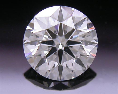 0.53 ct F SI1 A CUT ABOVE® Hearts and Arrows Super Ideal Round Cut Loose Diamond
