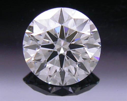 0.486 ct D SI1 A CUT ABOVE® Hearts and Arrows Super Ideal Round Cut Loose Diamond