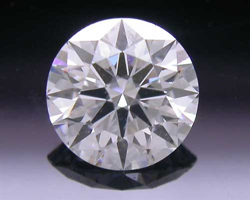 0.467 ct E SI2 A CUT ABOVE® Hearts and Arrows Super Ideal Round Cut Loose Diamond