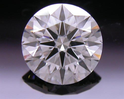 0.568 ct F SI2 A CUT ABOVE® Hearts and Arrows Super Ideal Round Cut Loose Diamond