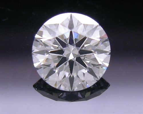 0.338 ct F SI1 A CUT ABOVE® Hearts and Arrows Super Ideal Round Cut Loose Diamond