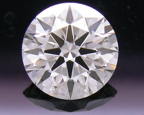 0.733 ct I SI1 A CUT ABOVE® Hearts and Arrows Super Ideal Round Cut Loose Diamond