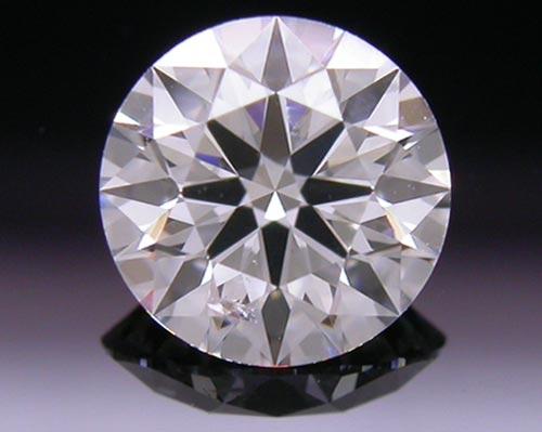 0.636 ct E SI2 A CUT ABOVE® Hearts and Arrows Super Ideal Round Cut Loose Diamond