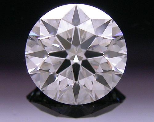0.611 ct E SI2 A CUT ABOVE® Hearts and Arrows Super Ideal Round Cut Loose Diamond