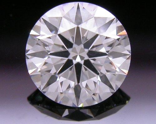 0.518 ct E VS2 A CUT ABOVE® Hearts and Arrows Super Ideal Round Cut Loose Diamond