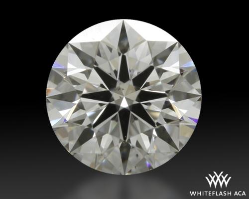 0.527 ct E SI1 A CUT ABOVE® Hearts and Arrows Super Ideal Round Cut Loose Diamond