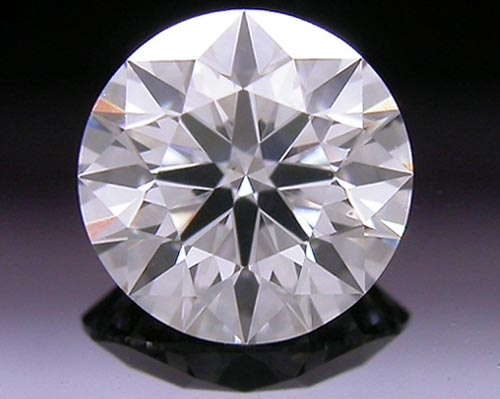 0.494 ct F SI1 A CUT ABOVE® Hearts and Arrows Super Ideal Round Cut Loose Diamond