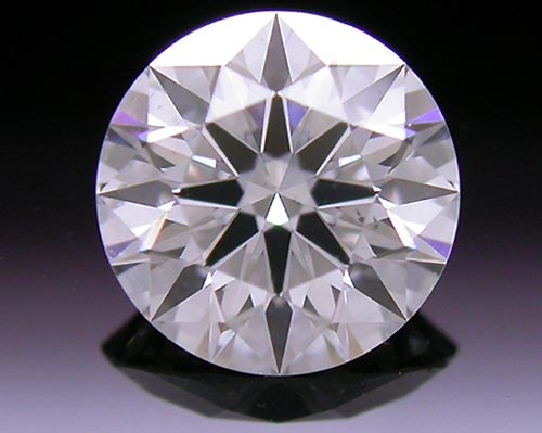 0.603 ct G SI1 A CUT ABOVE® Hearts and Arrows Super Ideal Round Cut Loose Diamond