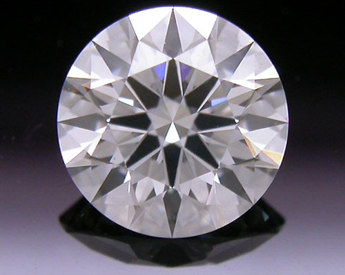 0.596 ct G SI1 A CUT ABOVE® Hearts and Arrows Super Ideal Round Cut Loose Diamond