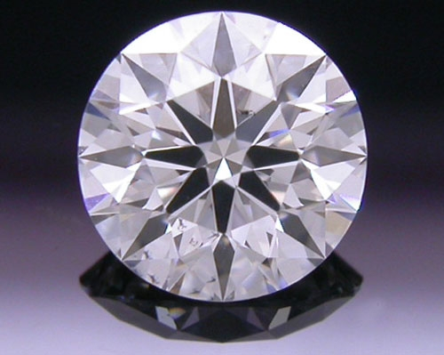 0.497 ct H SI1 A CUT ABOVE® Hearts and Arrows Super Ideal Round Cut Loose Diamond