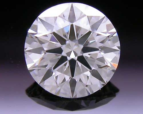 0.502 ct J VS2 A CUT ABOVE® Hearts and Arrows Super Ideal Round Cut Loose Diamond