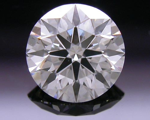 0.494 ct J VS2 A CUT ABOVE® Hearts and Arrows Super Ideal Round Cut Loose Diamond