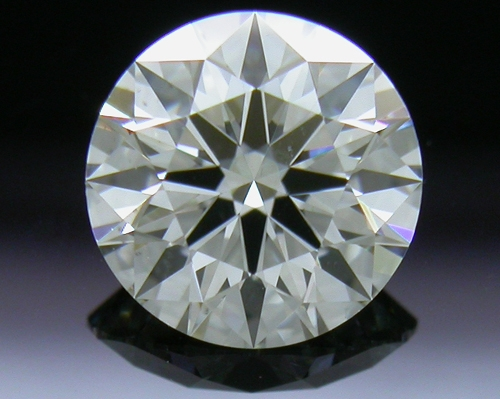 0.661 ct J SI1 A CUT ABOVE® Hearts and Arrows Super Ideal Round Cut Loose Diamond