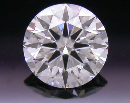 0.395 ct D SI1 A CUT ABOVE® Hearts and Arrows Super Ideal Round Cut Loose Diamond