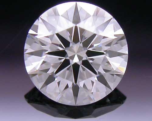 0.382 ct E SI1 A CUT ABOVE® Hearts and Arrows Super Ideal Round Cut Loose Diamond