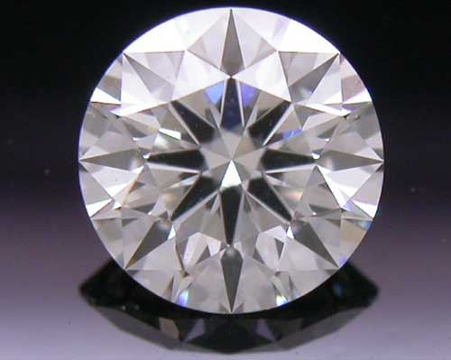 0.405 ct J VS2 A CUT ABOVE® Hearts and Arrows Super Ideal Round Cut Loose Diamond