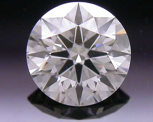 0.392 ct J VS2 A CUT ABOVE® Hearts and Arrows Super Ideal Round Cut Loose Diamond