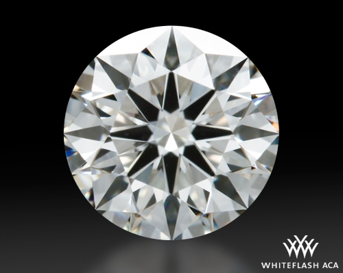 0.73 ct I VS2 A CUT ABOVE® Hearts and Arrows Super Ideal Round Cut Loose Diamond