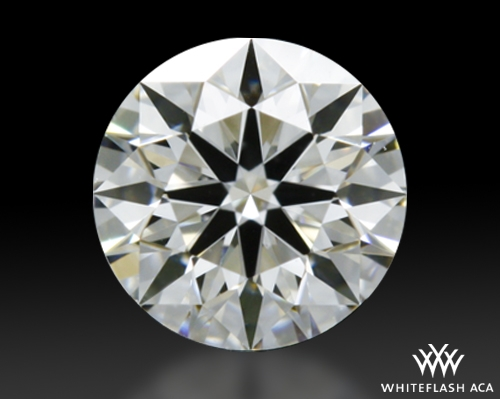 0.316 ct H VS1 A CUT ABOVE® Hearts and Arrows Super Ideal Round Cut Loose Diamond