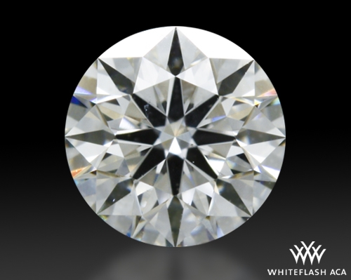 0.342 ct H SI1 A CUT ABOVE® Hearts and Arrows Super Ideal Round Cut Loose Diamond