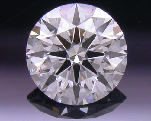 0.327 ct F SI1 A CUT ABOVE® Hearts and Arrows Super Ideal Round Cut Loose Diamond