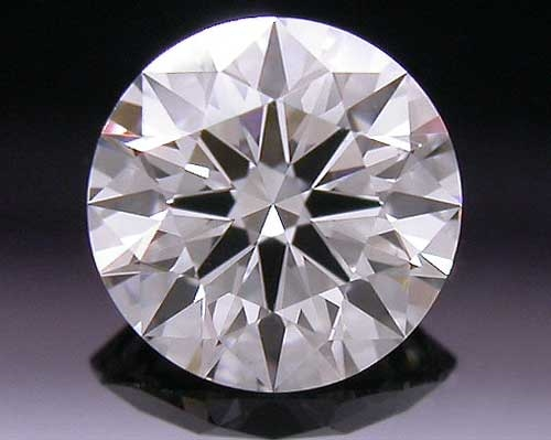 0.378 ct G VS2 A CUT ABOVE® Hearts and Arrows Super Ideal Round Cut Loose Diamond