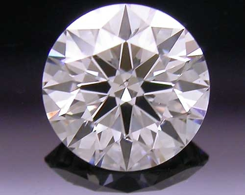 0.39 ct H SI1 A CUT ABOVE® Hearts and Arrows Super Ideal Round Cut Loose Diamond