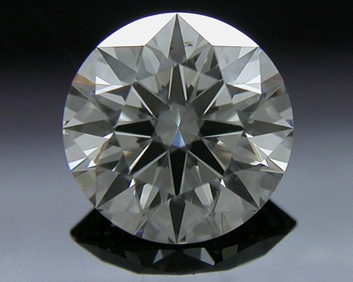 0.39 ct I SI1 A CUT ABOVE® Hearts and Arrows Super Ideal Round Cut Loose Diamond