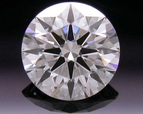 0.383 ct J SI1 A CUT ABOVE® Hearts and Arrows Super Ideal Round Cut Loose Diamond