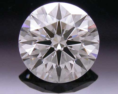 0.381 ct J SI1 A CUT ABOVE® Hearts and Arrows Super Ideal Round Cut Loose Diamond