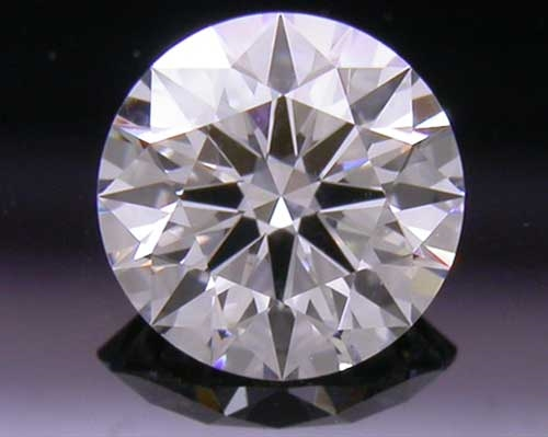 0.398 ct F VS1 A CUT ABOVE® Hearts and Arrows Super Ideal Round Cut Loose Diamond