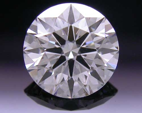 0.541 ct H SI1 A CUT ABOVE® Hearts and Arrows Super Ideal Round Cut Loose Diamond