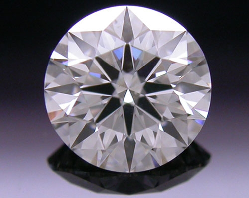 0.526 ct I SI1 A CUT ABOVE® Hearts and Arrows Super Ideal Round Cut Loose Diamond