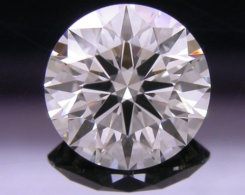 0.807 ct J VVS2 A CUT ABOVE® Hearts and Arrows Super Ideal Round Cut Loose Diamond