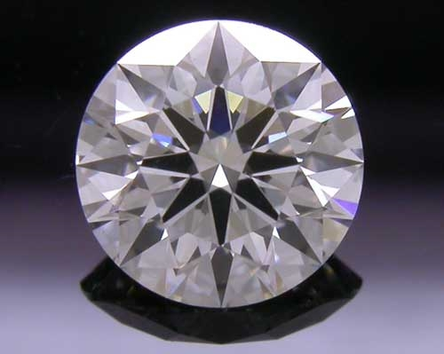 0.534 ct F SI1 A CUT ABOVE® Hearts and Arrows Super Ideal Round Cut Loose Diamond