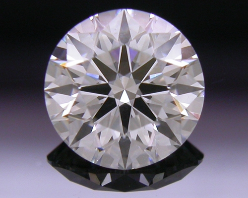 0.542 ct F SI1 A CUT ABOVE® Hearts and Arrows Super Ideal Round Cut Loose Diamond