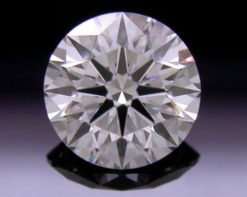 0.56 ct F SI1 A CUT ABOVE® Hearts and Arrows Super Ideal Round Cut Loose Diamond