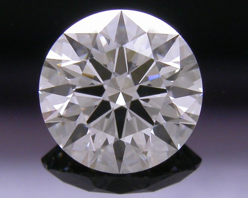 0.576 ct G SI1 A CUT ABOVE® Hearts and Arrows Super Ideal Round Cut Loose Diamond