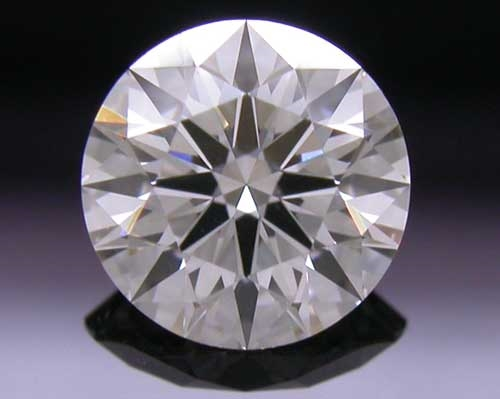 0.558 ct G SI1 A CUT ABOVE® Hearts and Arrows Super Ideal Round Cut Loose Diamond