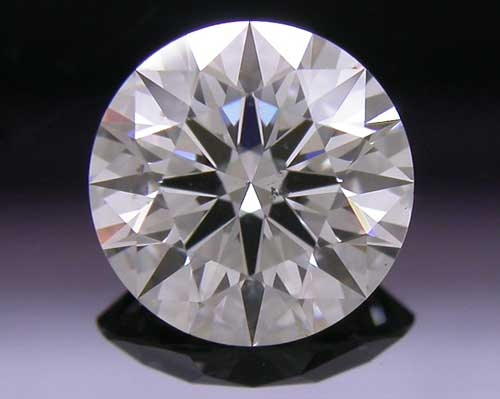 0.555 ct I SI1 A CUT ABOVE® Hearts and Arrows Super Ideal Round Cut Loose Diamond