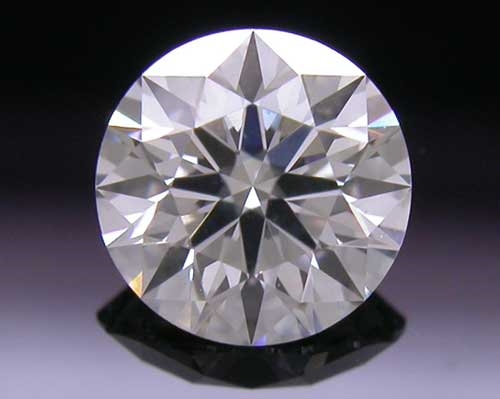 0.468 ct F SI2 A CUT ABOVE® Hearts and Arrows Super Ideal Round Cut Loose Diamond