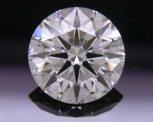 0.737 ct H SI1 A CUT ABOVE® Hearts and Arrows Super Ideal Round Cut Loose Diamond
