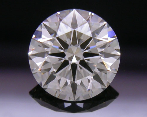 0.721 ct I SI1 A CUT ABOVE® Hearts and Arrows Super Ideal Round Cut Loose Diamond