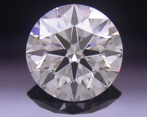 0.744 ct I SI1 A CUT ABOVE® Hearts and Arrows Super Ideal Round Cut Loose Diamond