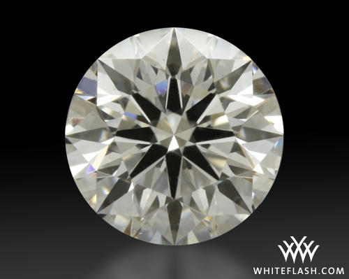 0.735 ct I SI2 A CUT ABOVE® Hearts and Arrows Super Ideal Round Cut Loose Diamond