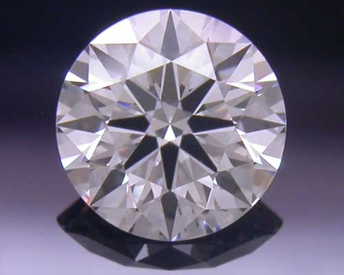 0.391 ct F SI1 A CUT ABOVE® Hearts and Arrows Super Ideal Round Cut Loose Diamond