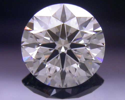 0.443 ct G SI2 A CUT ABOVE® Hearts and Arrows Super Ideal Round Cut Loose Diamond